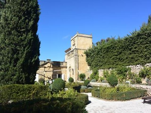 fabulous stone house with gardens and garage 16 miles from aix en provence and 30 miles from. Black Bedroom Furniture Sets. Home Design Ideas