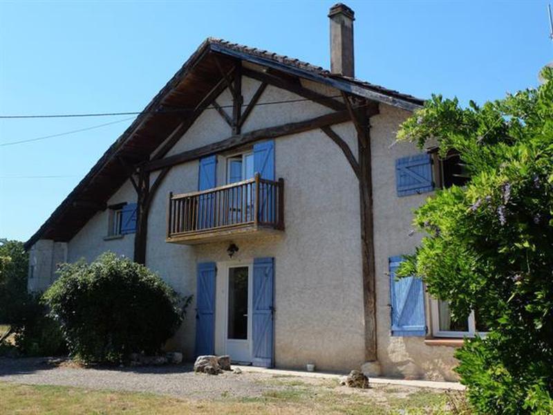 landais style chalet house for sale with 2 gites pool landes moulin