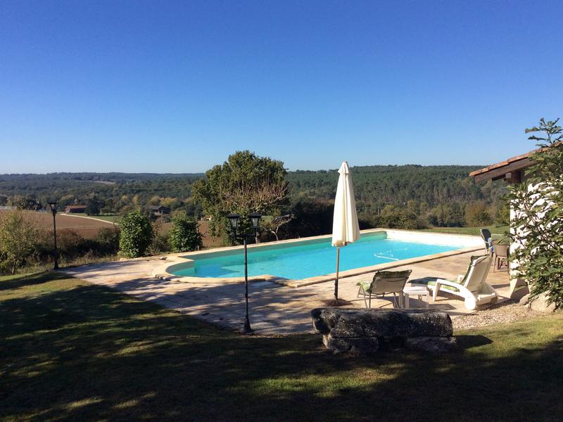 Beautiful Country House For Sale With Pool Gîte And Views Lot Et