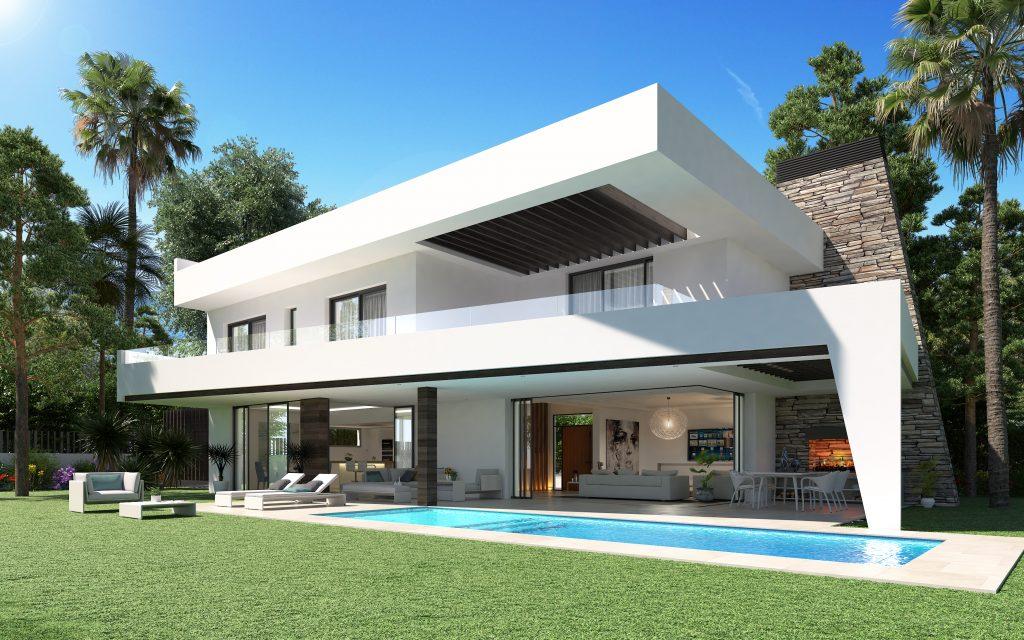 Villa de luxe moderne à vendre au bord de mer, Elviria | Moulin